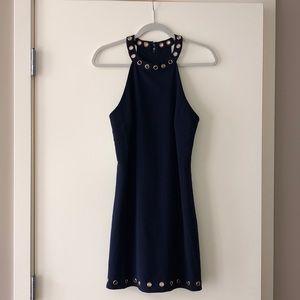 Mini navy dress!